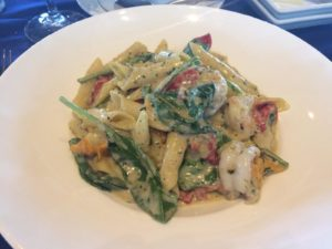 Narcoosee's Key West Shrimp With Garganelli Pasta